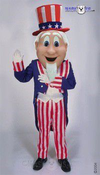 Uncle Sam Mascot Costume 44248