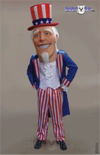 Uncle Sammy Mascot Costume 44249