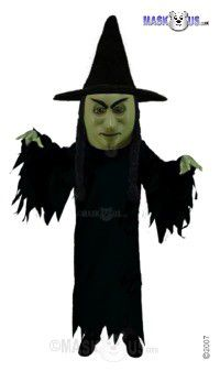 Witch Mascot Costume T0275